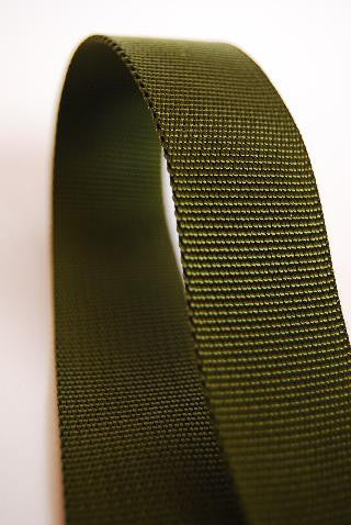 TRADITIONAL WEAVE NYLON  WEBBING - 25mm