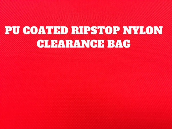 PU COATED RIPSTOP NYLON CLEARANCE BAG - 1kg