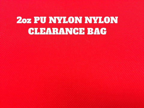 2oz PU NYLON CLEARANCE BAG