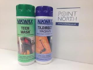 NIKWAX TX DIRECT / TECH WASH TWIN PACK 2 x 300ml