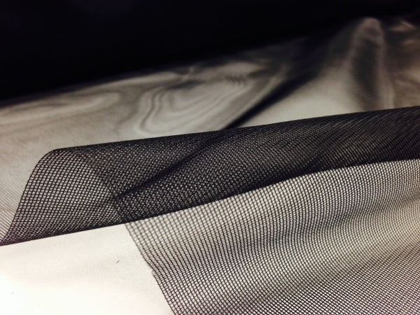 Black mosquito netting from Profabrics