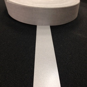 REFLECTIVE TAPE, SEW ON 25MM