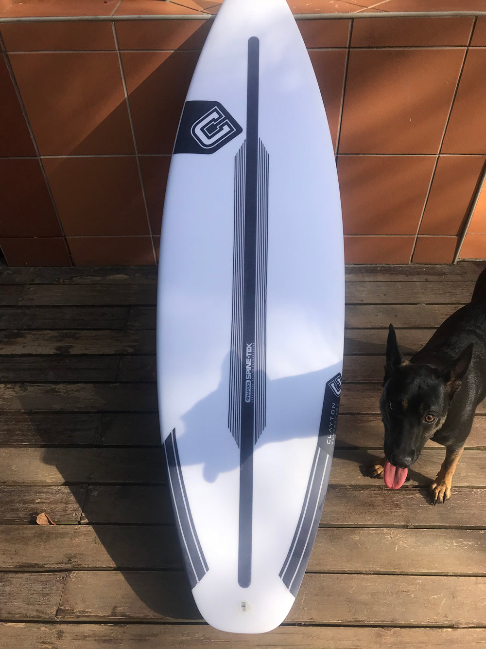 c327d1000a6 A Board Review - The HAVOK in Spine-Tek by Clayton Surfboards – Pollywog