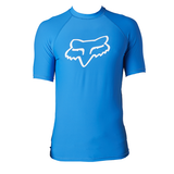 Fox Legacy Short Sleeve Rashvest - Blue