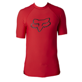 Fox Legacy Short Sleeve Rashvest - Red