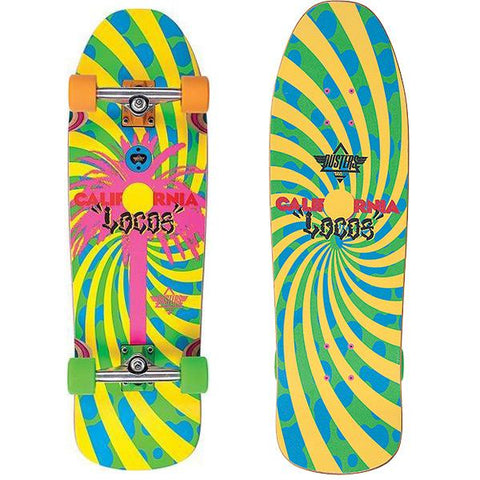"Dusters - California Locos Green / Yellow - 31"" Cruiser"