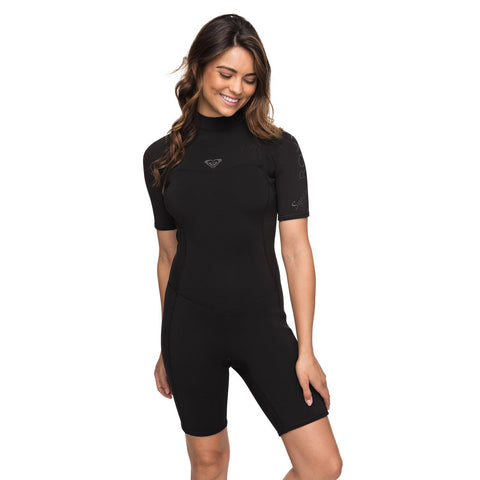 2.2mm Syncro Series - Short Sleeve Back Zip FLT Springsuit for Women