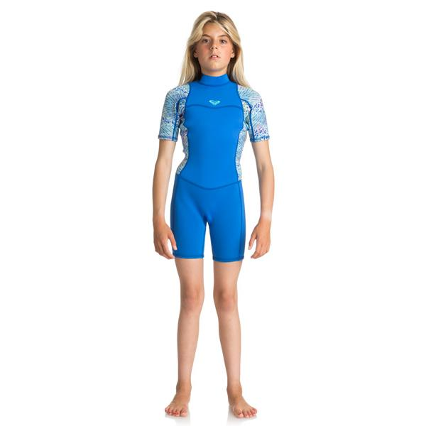 d8689b9143 Roxy - 2mm Syncro Series Short Sleeve Back Zip FLT Springsuit
