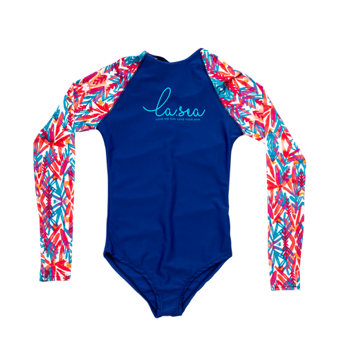 La Sea - Lycra Surf Suit - Multi / Blue