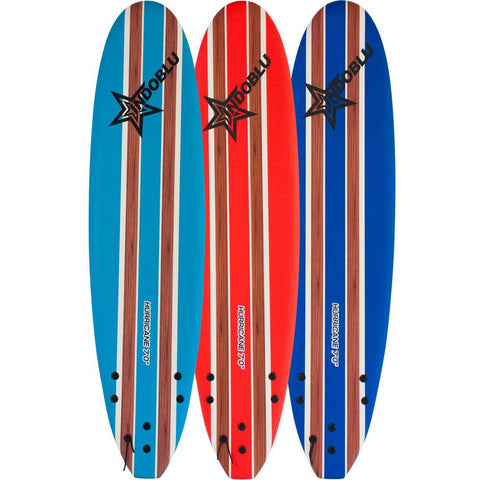 IndoBlu Hurricane Soft Top Surfboard