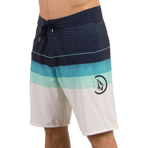 Volcom Lido Liney Mod Boardshorts - Dusty Aqua