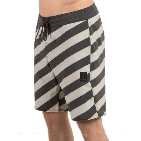Volcom Stripey Stoney Boardshorts - Black