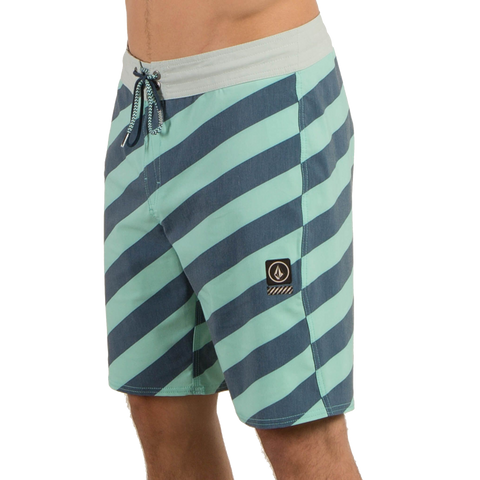 Volcom Stripey Stoney Boardshorts - Ice Green