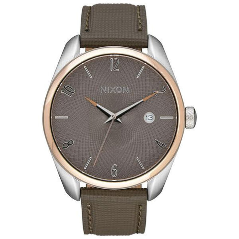 Nixon Bullet Leather - Rose Gold / Taupe