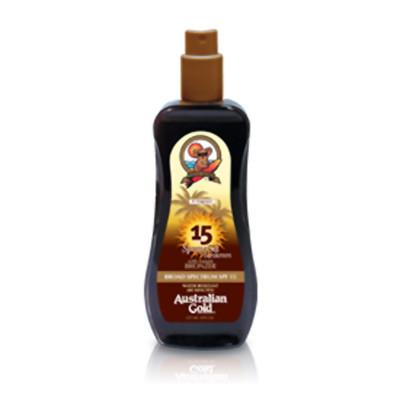 Australian Gold SPF 15 Spray Gel/Bronze 237ml