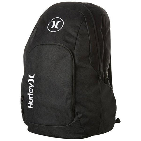 Hurley Mens Mission Backpack - Black