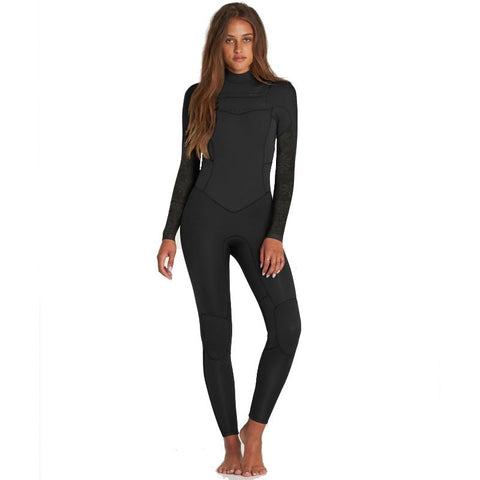 Billabong Womens 403mm Synergy C/Zip LS Full Wetsuit