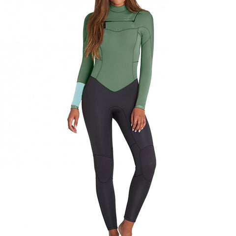 BILLABONG - SYNERGY CHEST ZIP - LADIES 3/2