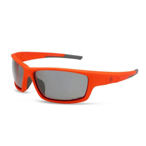 BondiBlu Platinum Polarised Sunglasses - Orange & Grey