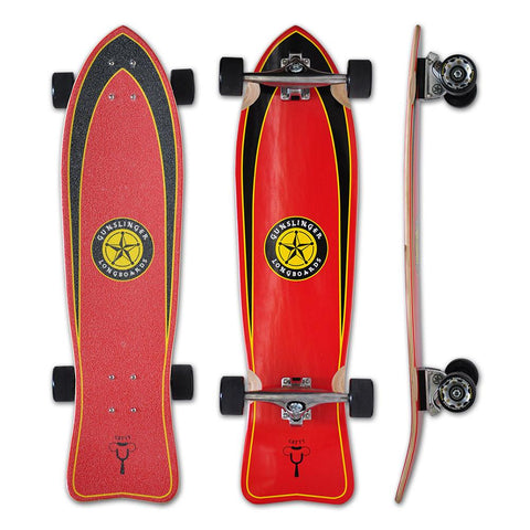 Gunslinger Catty Cruiser Longboard