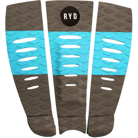 Ryd Layback Traction Pad - Gray / Blue
