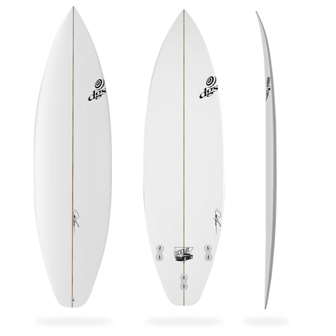 DGS The Low Down Surfboard