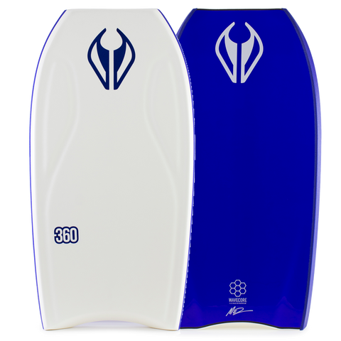 NMD 360 Progression Accelerator Bodyboard - White / Electric Blue
