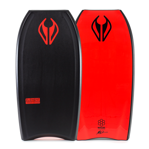 NMD Element Bodyboard - Black / Red