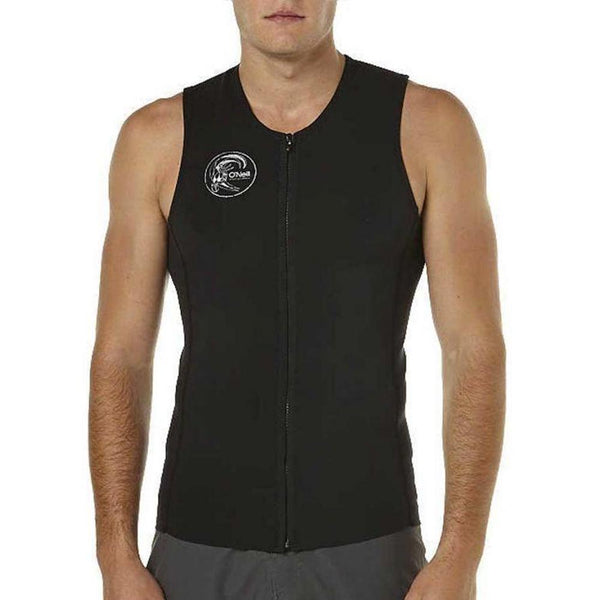 O'riginal Zip Thru 2MM Vest - Black