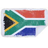 Bobums Microfibre L Printed Towel - SA Flag Distressed