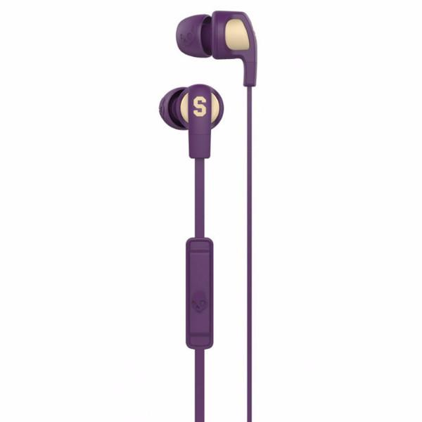Skullcandy Smokin Bud 2 With Mic 1 - Ill Famed / Purple / Cream