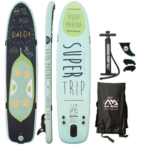 "Aqua Marina Super Trip Family 12'2"" Stand Up Paddleboard"