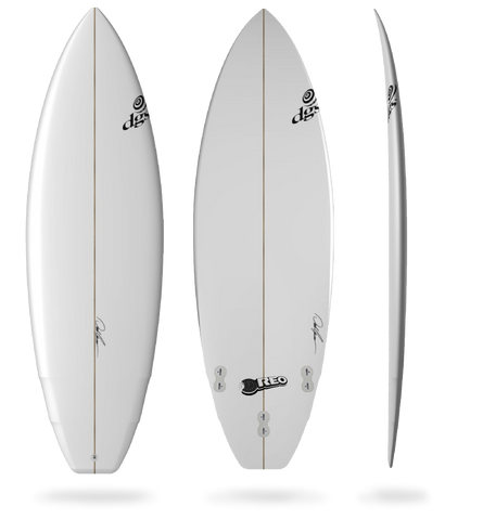 DGS The Oreo Surfboard
