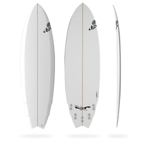 DGS The Super Fish Surfboard
