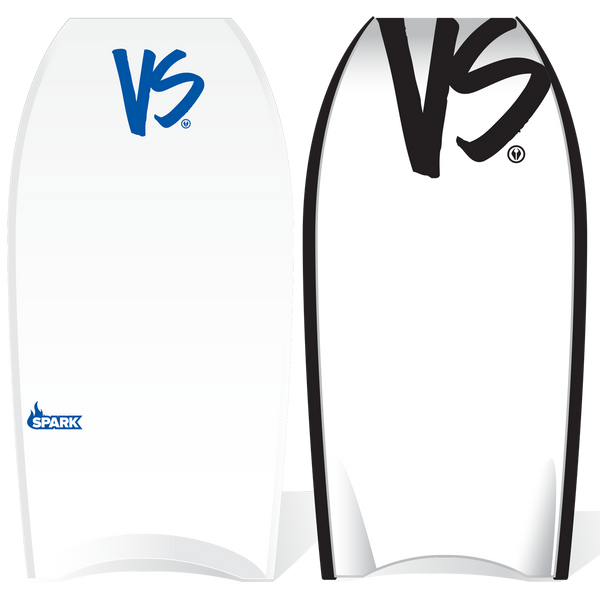 VS Spark EPS Core Bodyboard - White