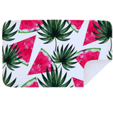 Bobums Microfibre XL Printed Towel - Watermelon Triangles