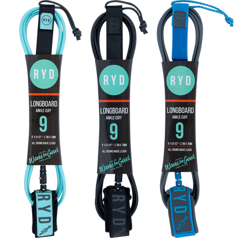 Ryd Longboard 9'0 Ankle Leashes