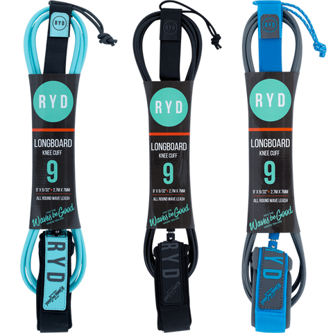 Ryd Longboard 9'0 Knee Leashes