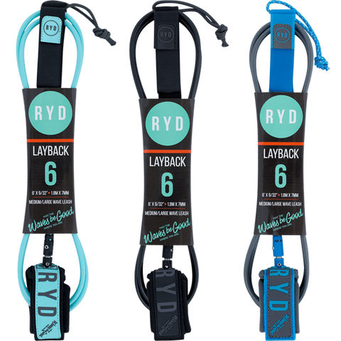 Ryd Layback 6'0 Leashes