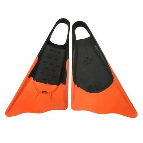 Ally Floating Swim fins - Black / Orange