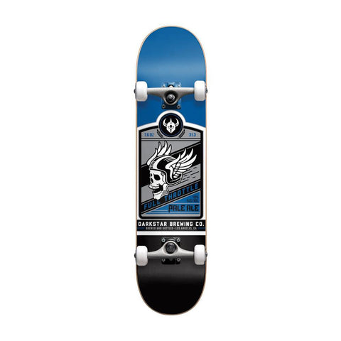 Darkstar - 7.625 Full Throttle Blue Soft Wheels Skateboard