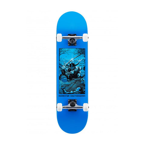 Darkstar - 8.0 Clean Grave Blue Skateboard