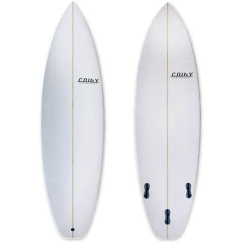 Colby Black Star Surfboard