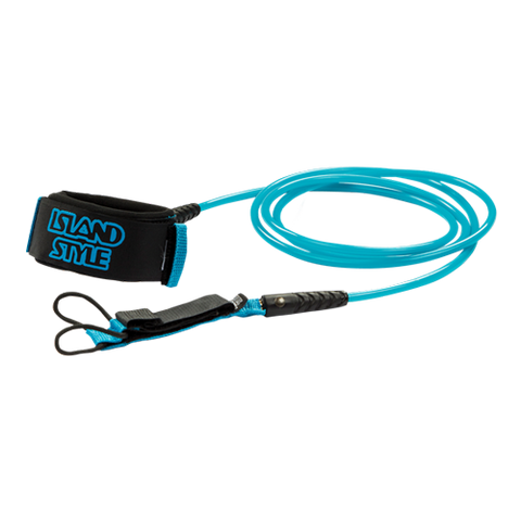 Island Style 5mm Double Swivel Comp Leash