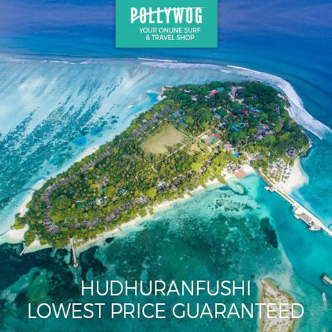 HUDHURANFUSHI SURF RESORT - LOHI'S - MALDIVES - PRICE BEAT GUARANTEE!!