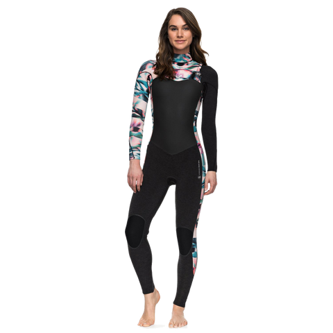Roxy - Womens 4/3mm Performance Chest Zip Wetsuit