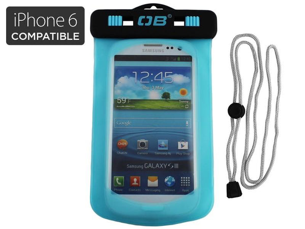 Overboard Waterproof Small Phone Case - Aqua
