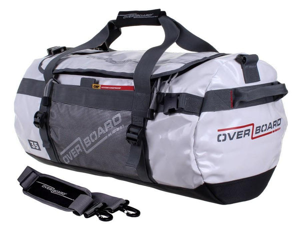 Overboard Adventure 35L Wateproof Duffel/Backpack - White