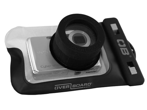 Overboard Waterproof Zoom Lense Camera Case - Black