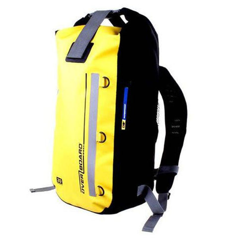 Overboard 20 Litre Waterproof Classic Backpack - Yellow